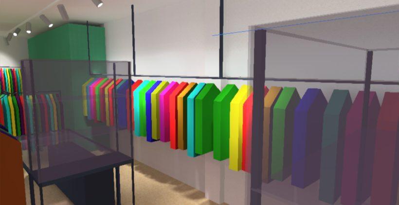 Progetto Illuminazione LED negozio
