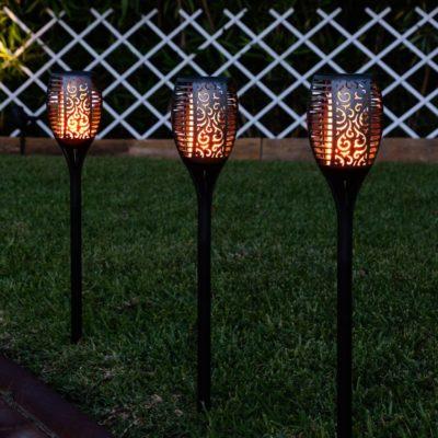 Torcia LED solare