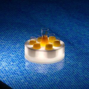 Vassoio acquatico LED