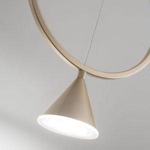 Sirio LED sospensione singolo