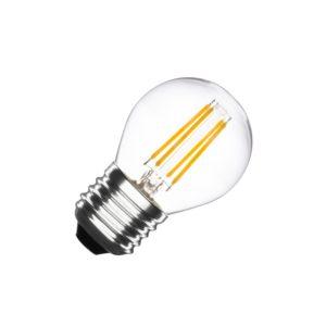 Lampadina LED e27 filamento g45 4w