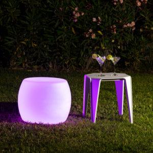 Sedia cono LED rgbw ricaricabile