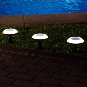 Fungo segnapasso LED solare smart