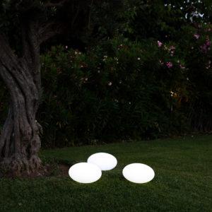 Stone LED RGBW ricaricabile